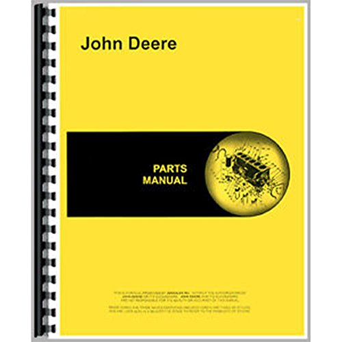 Parts Manual For John Deere Manure Spreader A B C D E ET H HH K P P-A