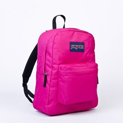 Jansport Superbreak Backpacks (Cyber Pink) by JanSport
