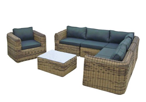 Rattan lounge braun  Amazon.de: POLY RATTAN Lounge Gartenset Sofa Garnitur Polyrattan ...