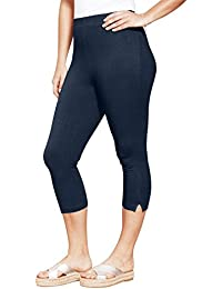 2ee7fa315abb4 Women s Plus Size Petite Stretch Capri Leggings
