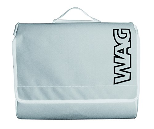 Wag Satteltaschen Cordura Everyday weiß (Taschen Vintage City)/Side Bags Cordura Everyday White (Vintage City Bag)
