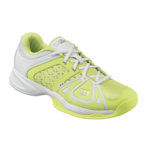 Schuh Wilson Damen Stance Elite HC W, grün/weiß weiß