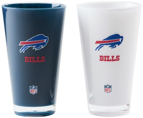-Ounce Insulated Tumbler - 2 Pack (Buffalo Bills Glass)