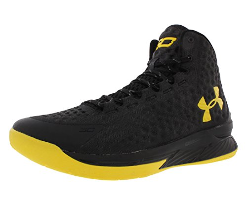 Under Armour Curry 1 Champs Pack Basketball Herrenschuhe Größe Weiß / Metallic Gold