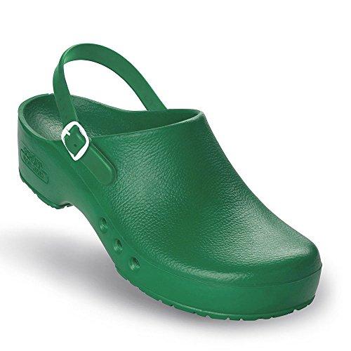 chaussures special mit Vert Chiroclogs Grün Fersenriemen unisexe oP UEwxq8qv4