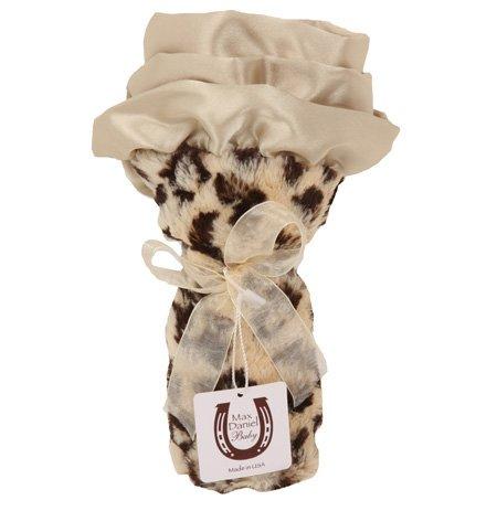 Jaguar Faux Fur - Max Daniel Baby Plush Print Security Blanket - Jaguar