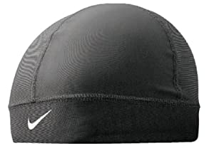 Amazon Com Nike Pro Combat Skull Cap Black White Osfm
