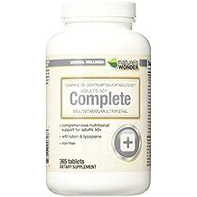 Nature's Wonder Adult 50+ Multivitamin, 365 Count, Compare vs. Centrum® Silver...