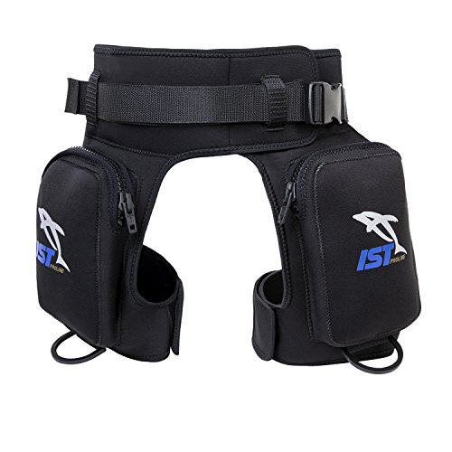 IST DH2 Diver Pocket Thigh Holster With Leg and Belt Straps ()