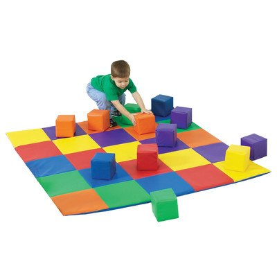 Children's Factory Joeys Matching Mat and Blocks Set by Children's Factory