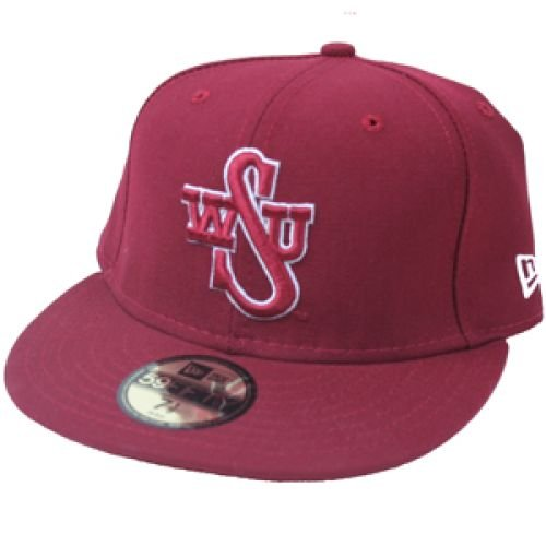 Washington State Cougars Fitted Cap - Washington State Cougars Fitted 5950 New Era Cap - Fitted - 7