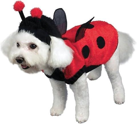 Seasons - Lovely Ladybug Dog Costume - Small ()