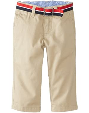 Tommy Hilfiger Baby Boys' Charlie Flat Front Pant