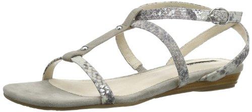 Belmondo 221047/m - Zapatos de pulsera Mujer Gris (Grau (Grigio))