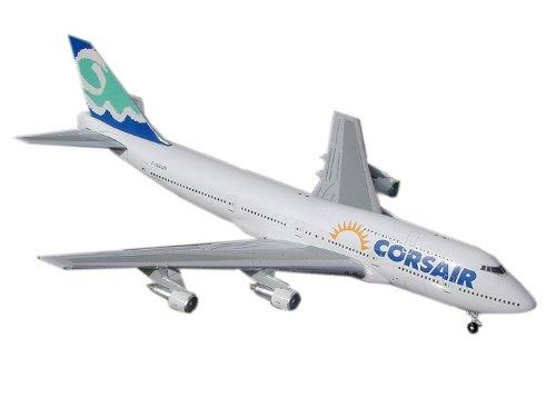 Range 747 400 - Gemini Jets Corsair (SUN) B747-300 1:400 Scale