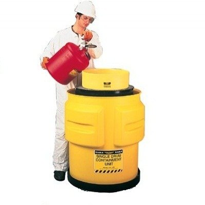 Single Drum Spill Container, 65 Gal