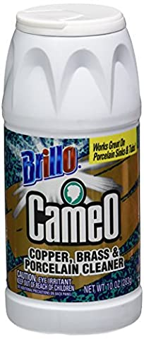 Brillo Cameo 31110 Copper/Brass & Porcelain Cleaner