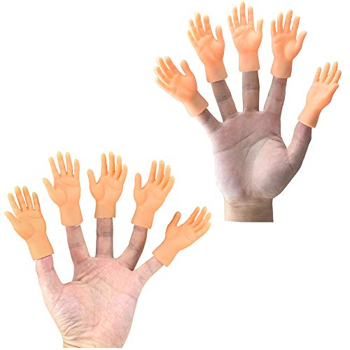 Sixpi Novelty Funny Funny Set of 10 Finger Hand Finger Puppets, Intelligence Toys Cute Toy Gifts for Girls & Boys from Sixpi