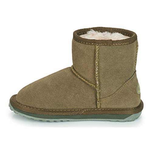 Num Pelo Wallaby Khaki Mini Boot 24 Emu wxSqBgC