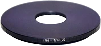 M26x0.75 Female to M77x0.75 Male Thread Adapter