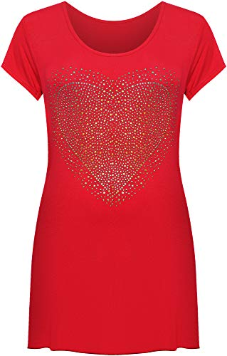 WearAll - T-shirt - Donna Red