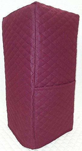 Quilted Blender Cover (Large, Burgundy) Burgundy Blender