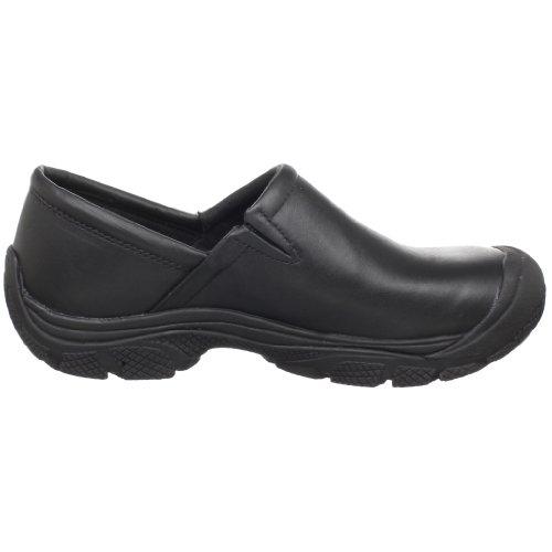 KEEN Utility Men's PTC Slip On Work Shoe,Black,10.5 M US