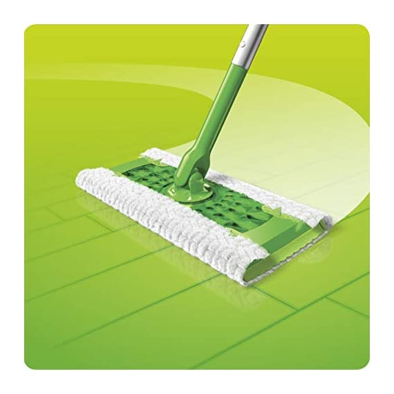 Swiffer Sweeper Heavy Duty Mop Pad Refills for Floor Mopping and Cleaning, All Purpose Multi Surface Floor Cleaning Product, 20 Count, 2 Pack 4 2x More Trap + Lock of dirt, dust, and hair vs. multi-surface Sweeper dry cloth Over 30,000 3D fibers brush into tight spaces gathering dust, dirt, and pet hair Great on Grout and any other floors from tile to finished hardwood