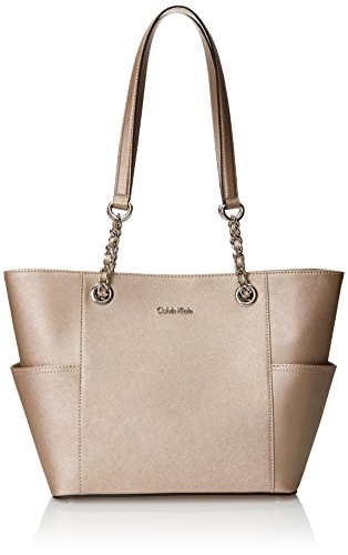 Calvin Klein Metallic Leather Zip - Calvin Klein Zip Nylon Crossbody