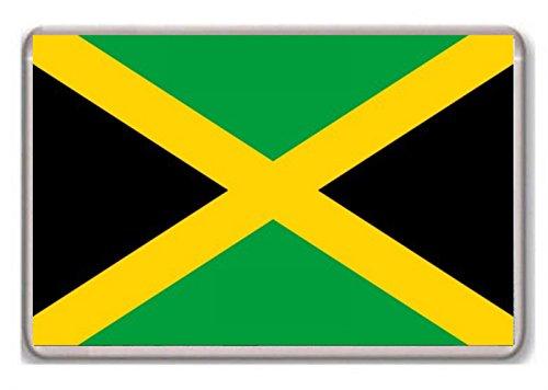 Flag of Jamaica fridge magnet