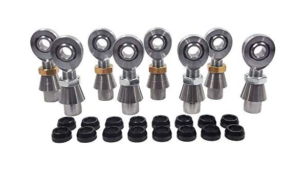4-link kit 3//4 x 5//8 Bore Rod End Chromoly 1-1//2 x.250 .750 Heim Joint,