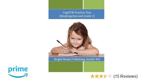 Amazon cogat practice test kindergarten and grade 1 amazon cogat practice test kindergarten and grade 1 9781477506455 bright minds publishing seattle wa books fandeluxe Gallery