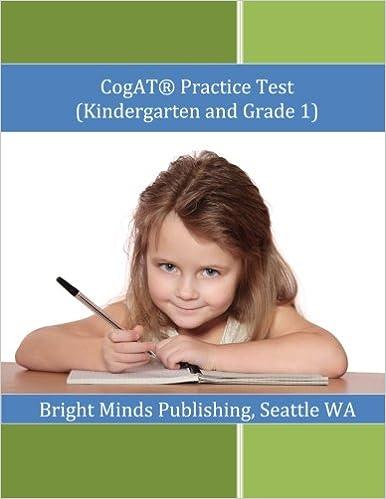 Amazon.com: Cogat Practice Test (Kindergarten and Grade 1 ...