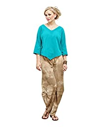 Oh My Gauze Women\'s Lynn Blouse XXL Reef