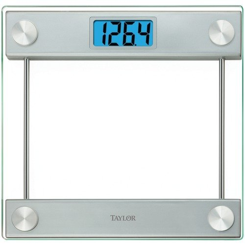 TAP75194192 - TAYLOR 75194192 Extra-Thick 100mm Glass Platform Digital Scale by Taylor