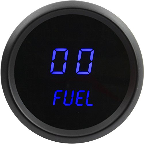 JEGS Performance Products 41433 Fuel Level Gauge LED Digital 99% Read Out 2-1/16 ()