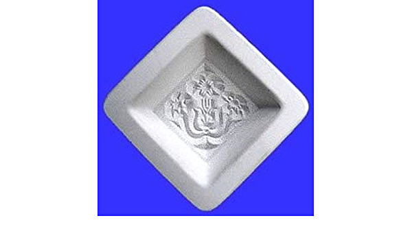 Sun Face Texture Tile Mold for Glass Slumping 10 X 10 Inch DT39