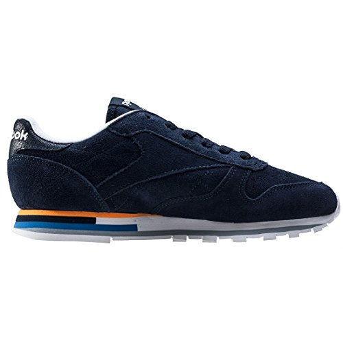 Sneaker Mh Donna Leather Classic Indigo Reebok SUZxvqCcwE