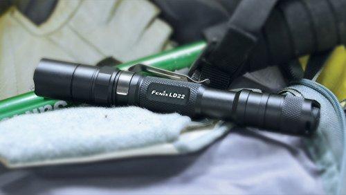 Fenix LD22 - Linterna (Linterna de mano, Negro, Aluminio, IPX8, LED, 50000 h): Amazon.es: Iluminación