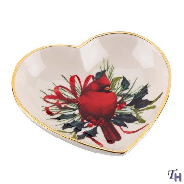 Lenox Heart (Winter Greetings Heart Candy Dish by Lenox)