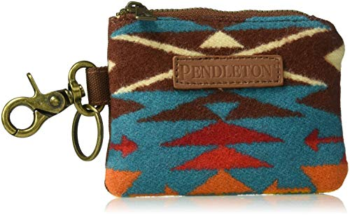 Pendleton Men's ID Pouch Key Ring, Tucson Turquoise, One Size by Pendleton