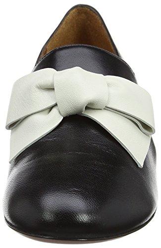 Chie MiharaRenato - Zapatillas de Ballet Mujer Black (Maitai Negro-Maitai Leche)