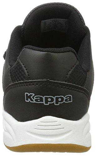 1116 Unisex Black Kappa Niños Bajo grey Kickoff Tobillo Negro Teens 8xwwI0qOU