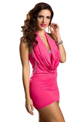 Amour Women's Flirty Strings One Shoulder Romper Clubwear