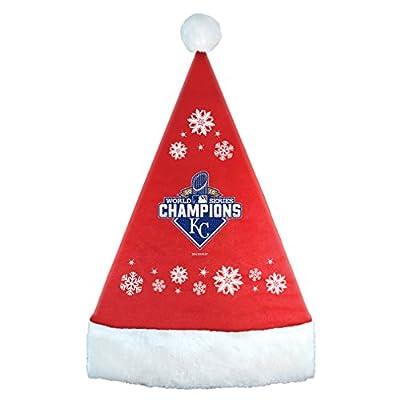 MLB Kansas City Royals (World Series) Champions 2015 Santa hat (RED)