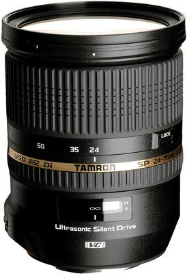 Tamron SP 24-70mm F/2.8 Di VC USD Lens for Canon DSLR Camera DSLR Camera Lenses at amazon
