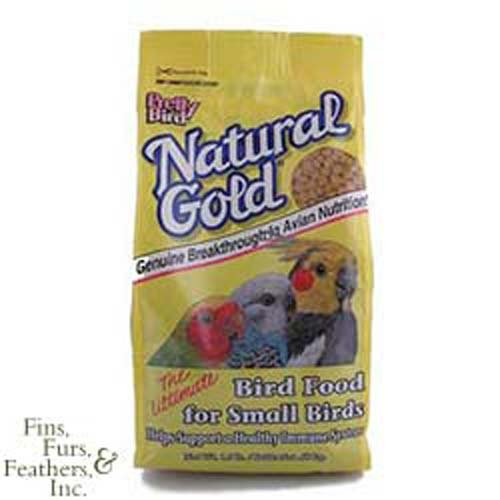 Pretty Bird International BPB74308 Natural Gold Bird Food, Small, 30-Pound (Pretty Natural Bird International)