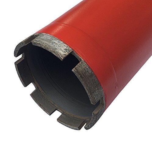 Granite 5 Diameter 1-1//4-7 Threaded #30//40 Diamond Grits Wet Drill Core Bits for Hard Concrete and Block Brick