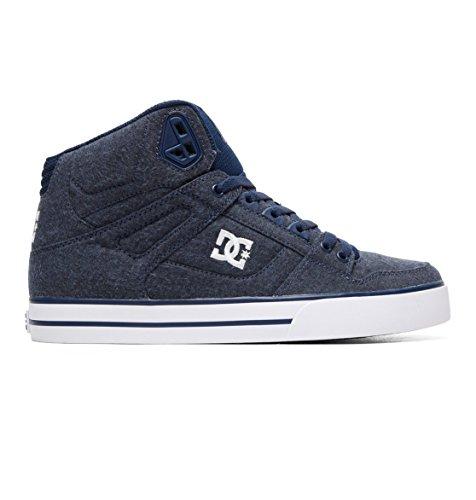 Dc Pure Mens Shoes - DC Shoes Men's Pure WC TX SE Hi Top Sneaker Shoes Navy Blue 10