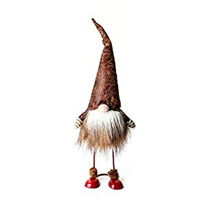 ITOMTE Handmade Swedish Gnome, Scandinavian Tomte, Yule Santa Nisse, Spring Nordic Figurine, Plush Elf Toy, Home Decor…